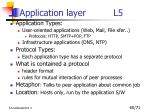 application layer l51