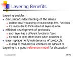 layering benefits