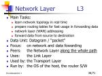 network layer l3