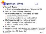 network layer l31