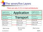 the seven five layers