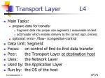 transport layer l4