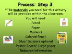 process step 32