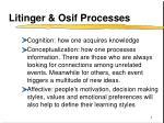 litinger osif processes