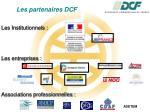 les partenaires dcf