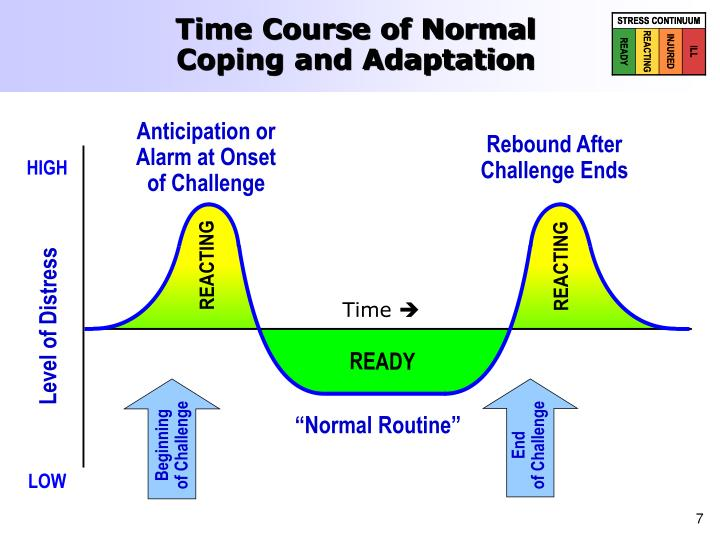 Time Course of Normal Coping and Adaptation