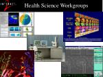 health science workgroups