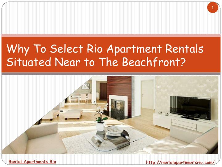 rental apartments rio n.