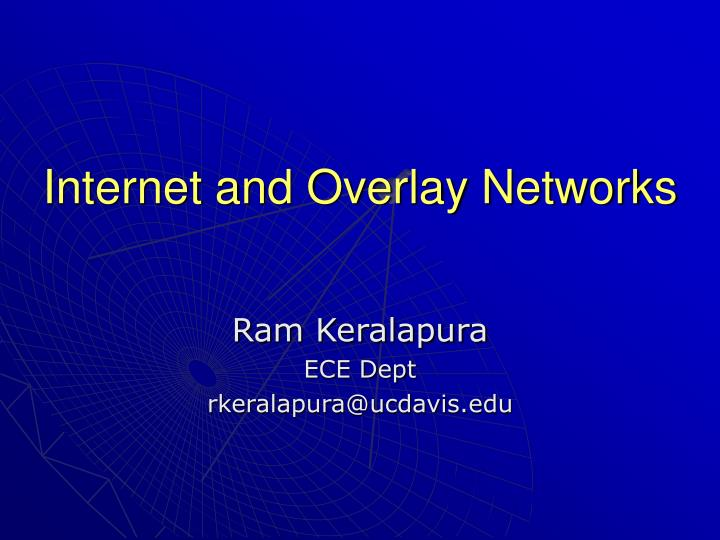 internet and overlay networks n.