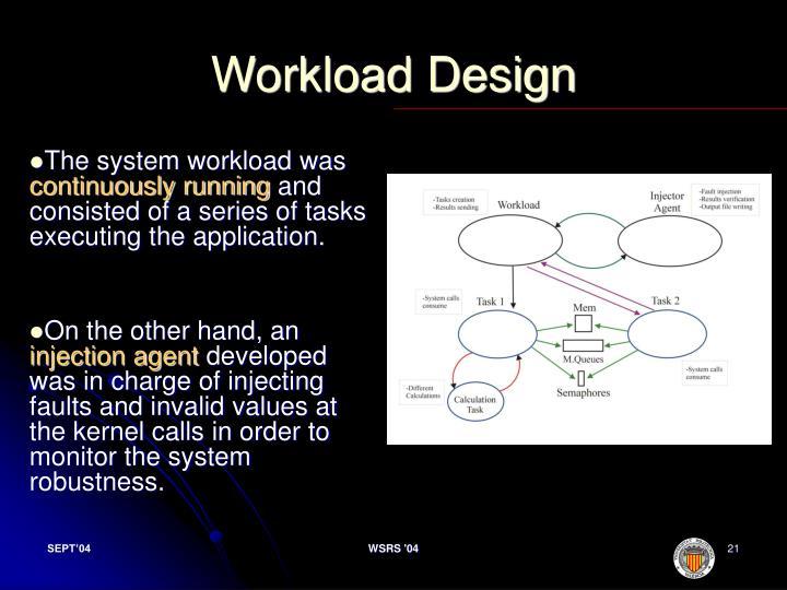Workload Design