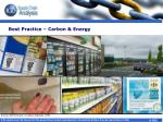 best practice carbon energy