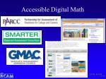 accessible digital math