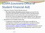 losfa louisiana office of student financial aid5