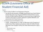 losfa louisiana office of student financial aid7