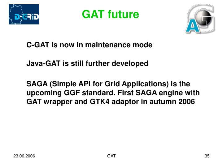 GAT future