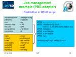 job management example pbs adaptor2