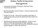 globus toolkit 4 execution management