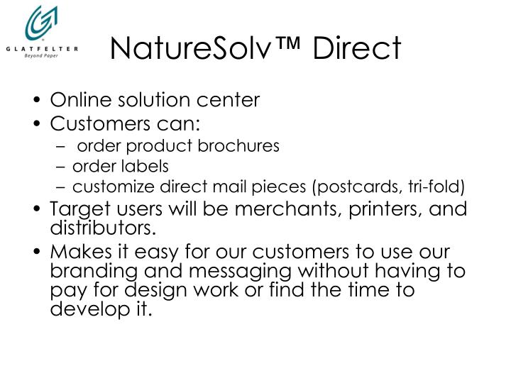 naturesolv direct n.