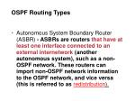 ospf routing types4