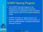 start saving program