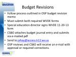 budget revisions1