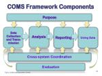 coms framework components