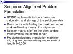 sequence alignment problem formulation3