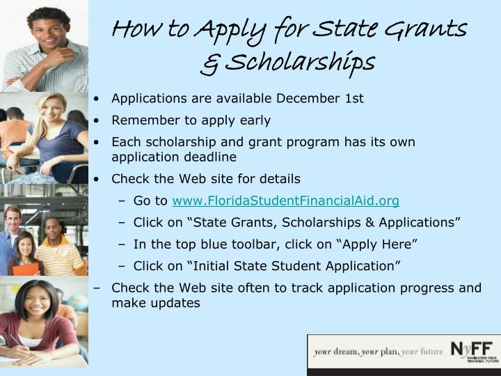 How to Apply for State Grants & Scholarships