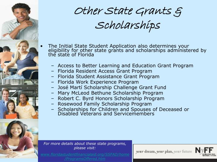 Other State Grants & Scholarships