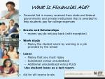 what is financial aid