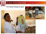 the family package program