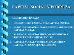 capital social y pobreza