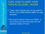 tops how to keep your tops in college hours4