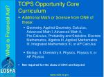 tops opportunity core curriculum4