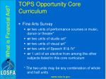 tops opportunity core curriculum7