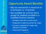 opportunity award benefits2