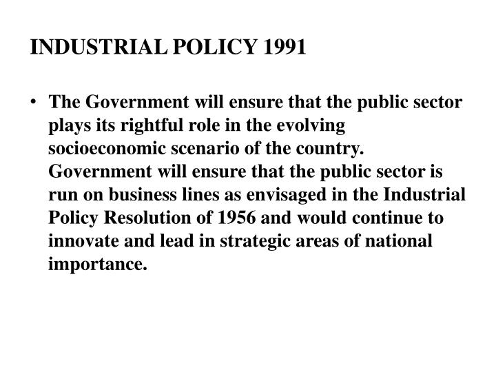industrial policy resolution Upsc ias general studies industrial policy resolution – 1956 before we delve into the details of industrial policy resolution of 1956, let's go back to the bus.