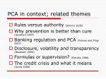pca in context related themes