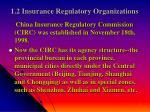 1 2 insurance regulatory organizations