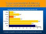to spur experimentation risk taking reform bankruptcy for easier re entry