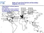 entry of low cost carriers at secondary airports worldwide