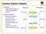 context switch details