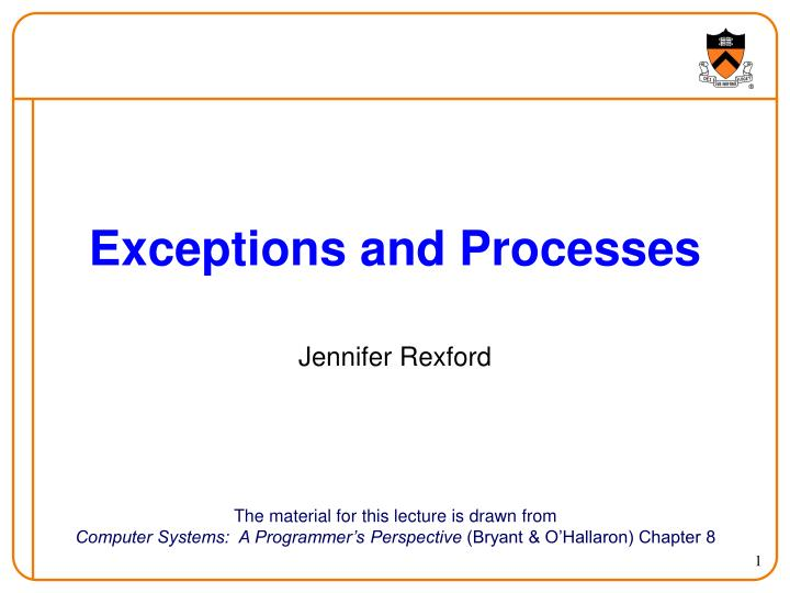 exceptions and processes n.