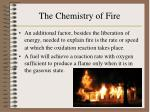the chemistry of fire1