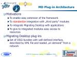 md plug in architecture