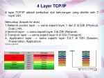 4 layer tcp ip