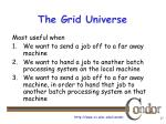the grid universe