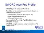 sword atompub profile1