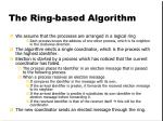 the ring based algorithm