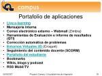 portafolio de aplicaciones1